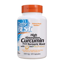 Curcumin from Turmeric Root 500 mg High Absorption (120 caps)