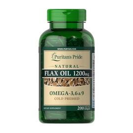 Flax Oil 1200 mg Omega - 3, 6 & 9 (200 softgels)