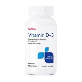 Vitamin D-3 25 mcg (1000 IU) (180 tabs)