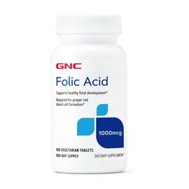 Folic Acid 1000 mcg (100 veg tabs)