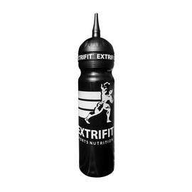 Bottle Extrifit Long Nozzle Black (1 l)