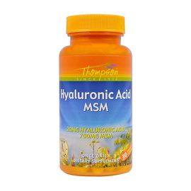Hyaluronic Acid MSM (30 veg caps)