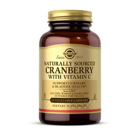 Cranberry with Vitamin C Naturally Sourced (60 veg caps)