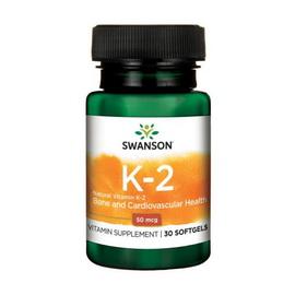 K2 50 mcg (30 softgels)