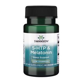 5-HTP & Melatonin (30 caps)