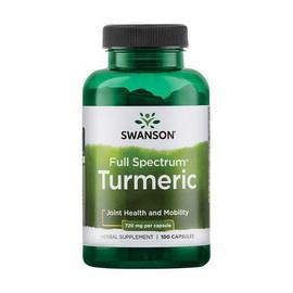 Full Spectrum Turmeric 720 mg (100 caps)