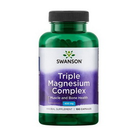 Triple Magnesium Complex 400 mg (100 caps)