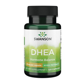 DHEA 25 mg (120 caps)