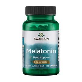 Melatonin 3 mg (120 caps)