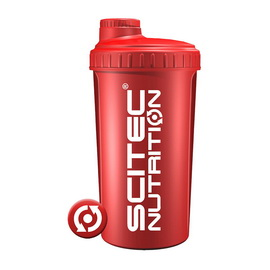 Shaker Scitec Nutrition Red (700 ml)