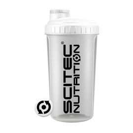 Shaker Scitec Nutrition Opaque White Lid (700 ml)