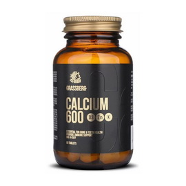 Calcium 600 + D3 + Zn + K (60 tabs)