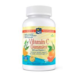 Vitamin C Gummies 250 mg (120 gummies)