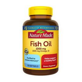 Fish Oil 1000 mg (90 softgels)