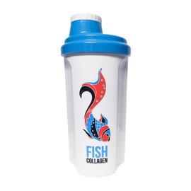 Shaker MST Fish Collagen White/Blue (700 ml)