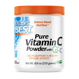 Pure Vitamin C with Q-C Powder Unflavored (250 g)