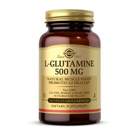 L-Glutamine 500 mg (100 veg caps)
