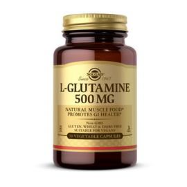 L-Glutamine 500 mg (50 veg caps)