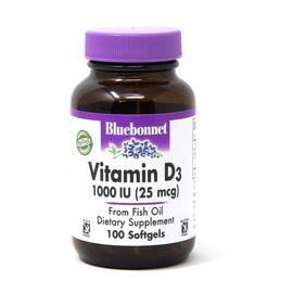 Vitamin D3 1000 IU (25 mcg) (100 softgels)