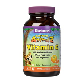 Vitamin C 500 mg with Bioflavonoids for Kids (90 chew tabs)