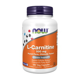 L-Carnitine 500 mg (180 veg caps)