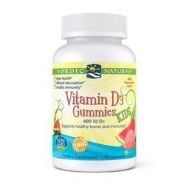 Kids Vitamin D3 400 IU Gummies (60 gummies)