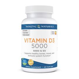Vitamin D3 5000 IU (125 mcg) (120 softgels)