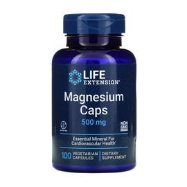 Magnesium Caps 500 mg (100 veg caps)