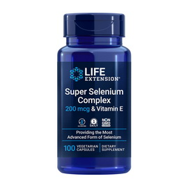 Super Selenium Complex 200 mcg & Vitamin E (100 veg caps)