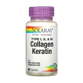 Collagen Keratin Type I, II & III (60 caps)