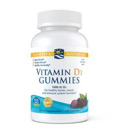 Vitamin D3 1000 IU Gummies (120 gummies)