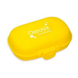 OstroVit Pill Box Yellow