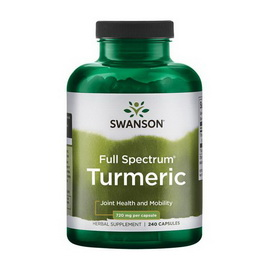 Full Spectrum Turmeric 720 mg (240 caps)