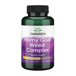 Horny Goat Weed Complex (120 caps)
