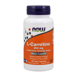 L-Carnitine 250 mg (60 caps)