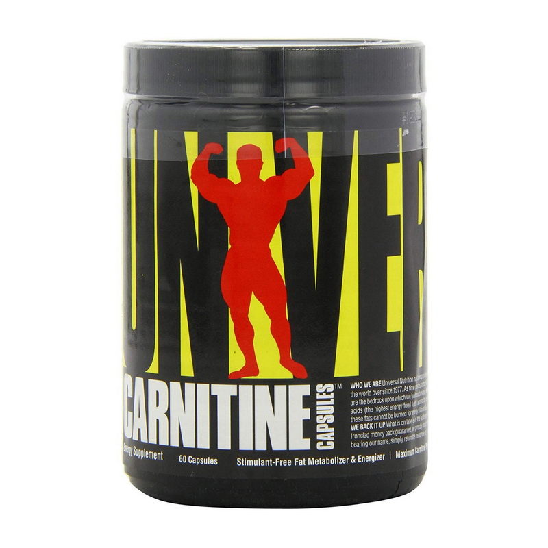 Carnitine 500 Mg (60 caps)