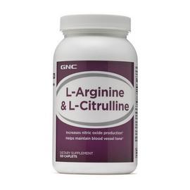 L-Arginine & L-Citrulline (120 caplets)