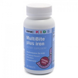 Kids MultiBite Plus Iron (90 caps)
