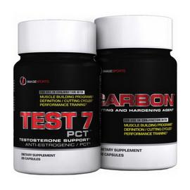 Stack Test 7 Carbon (28 caps)