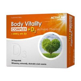 Body Vitality Complex + D3 (30 caps)