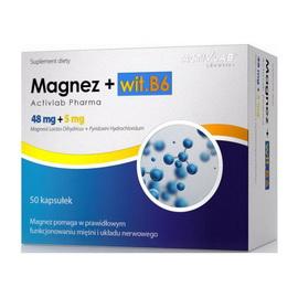 Magnez + wit. B6 (50 caps)