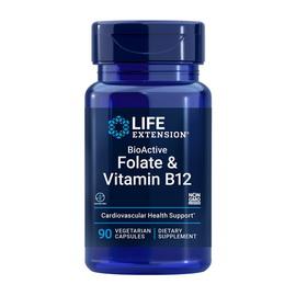 BioActive Folate & Vitamin B12 (90 veg caps)