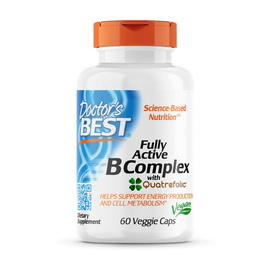 Fully Active B Complex with Quatrefolic (60 veg caps)