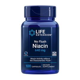 No-Flush Niacin 640 mg (100 caps)
