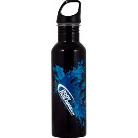 Бутылка питьевая чёрная (760ml)