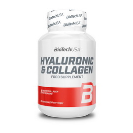 Hyaluronic & Collagen (30 caps.)