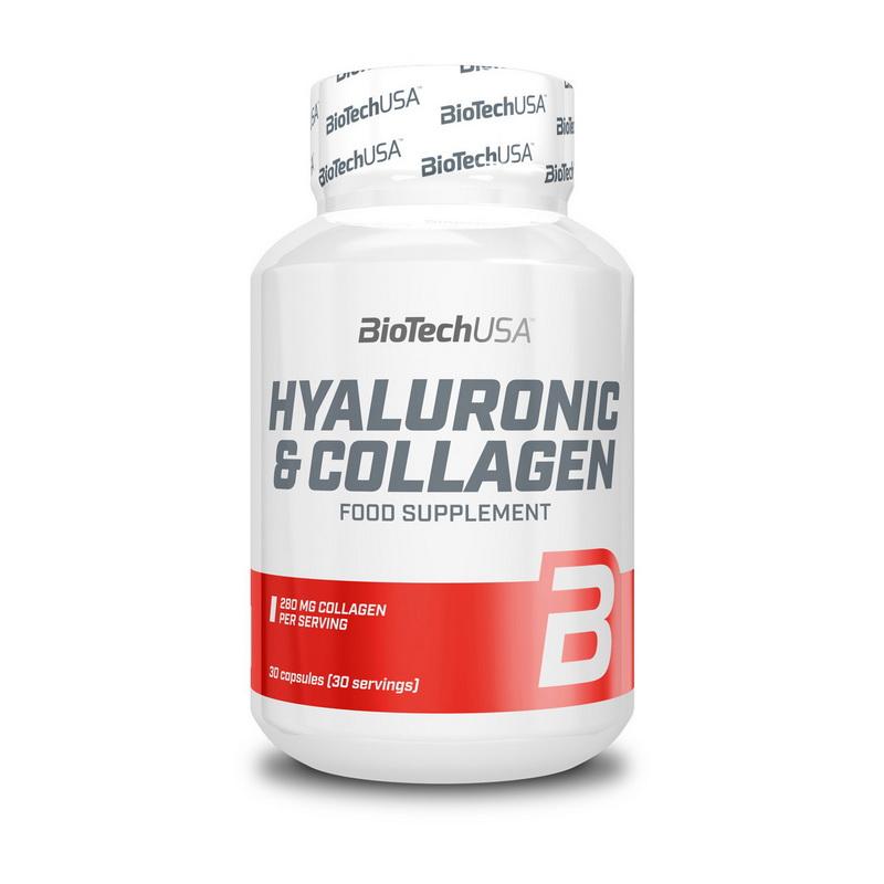 Hyaluronic & Collagen (30 caps.)