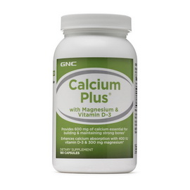 CALCIUM PLUS WITH VITAMIN (120 caps)