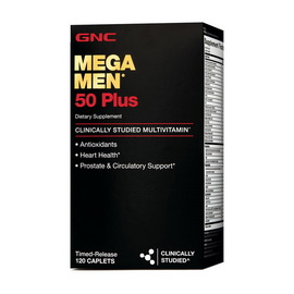 Mega Men 50 Plus (120 caplets)