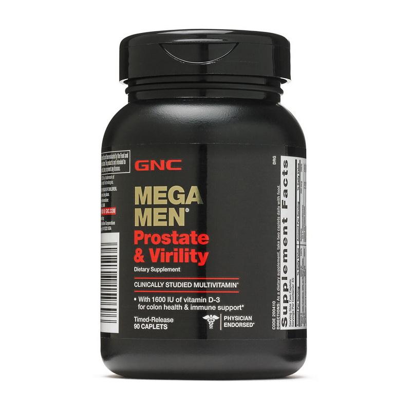 Mega Men Prostate Virility (90 caplets)